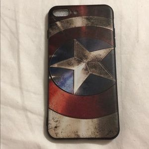 Marvel Other - Captain America iPhone iPhone 7&8 +